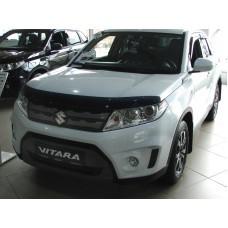 Дефлектор капота (мухобойка) Suzuki Vitara (Escudo) 2015-