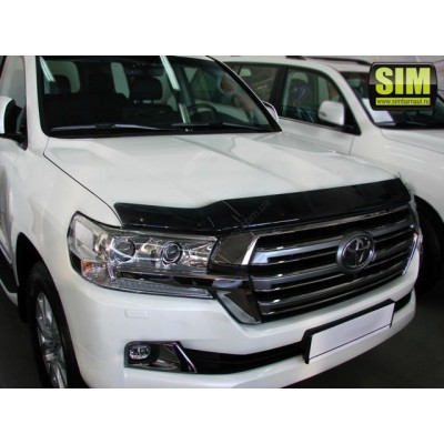 Дефлектор капота (мухобойка) TOYOTA LAND CRUISER 200 2015-(PW42160000) - STOLCR1512