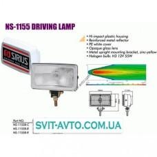 Фары дополнительные  NS-1155 B-C H3/12 В/55W/150*86mm/крышка (NS-1155 B-C)