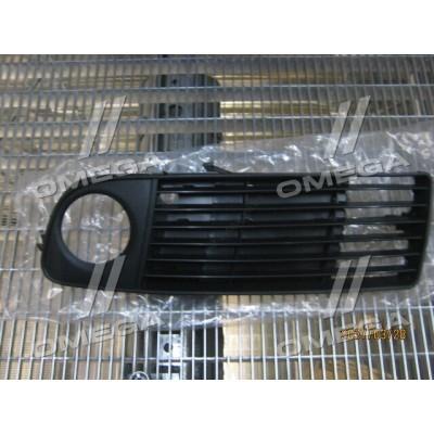Решетка переднего бампера левая Audi A6 C5 00-01 (Tempest) решетка противотуманной фары - 0130077913
