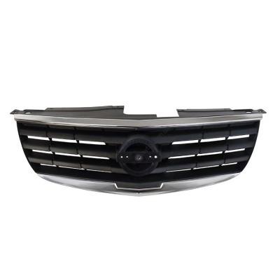 Решетка радиатора для Nissan Almera Classic 06- черная с хром рамкой (Tempest) - 037 0373 990