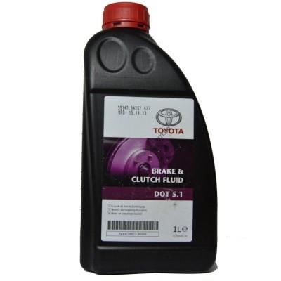 Жидкось тормозная DOT-5.1, (1л), TOYOTA, 0882380004 - 882380004