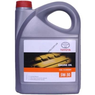 Моторное масло синтетическое TOYOTA 5W-30, 4 л, TOYOTA, 0888083581 - 888083581