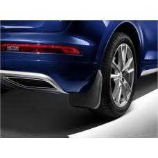 Брызговики задние для Audi Q8 (18-) оригинальные 2шт 4M8075101