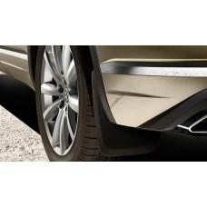 Брызговики задние для Volkswagen Touareg 2018- оригинальные 2шт 760075101