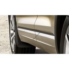 Брызговики передние для Volkswagen Touareg 2018- оригинальные 2шт 760075111
