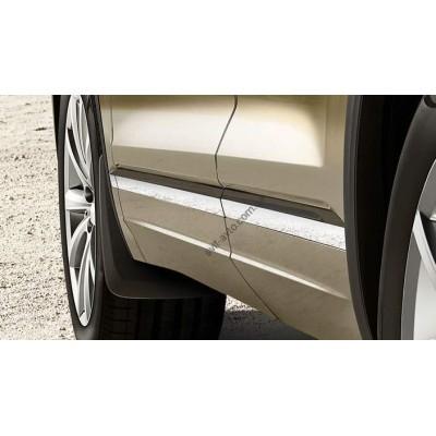Брызговики передние для Volkswagen Touareg 2018- оригинальные 2шт 760075111 - 760075111