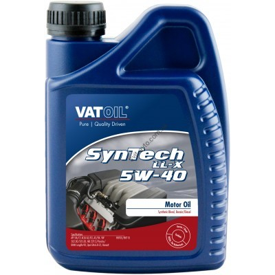 Моторное масло VATOIL SynTech LL-X 5W-40, 1 л, VATOIL, 50034 - 50034