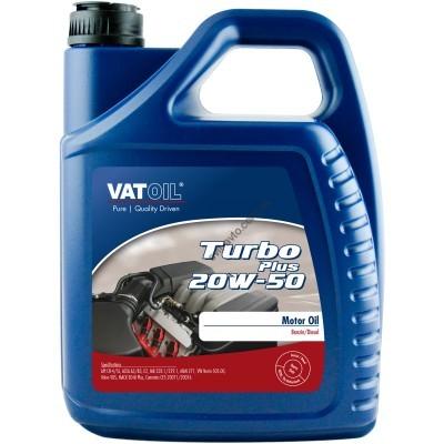 Моторное масло VATOIL Turbo Plus 20W-50, 5 л, VATOIL, 50159 - 50159